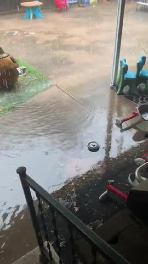 Flash Flooding in West Denton