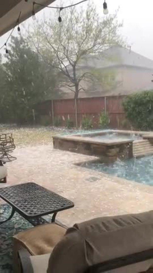 McKinney Hail Storm