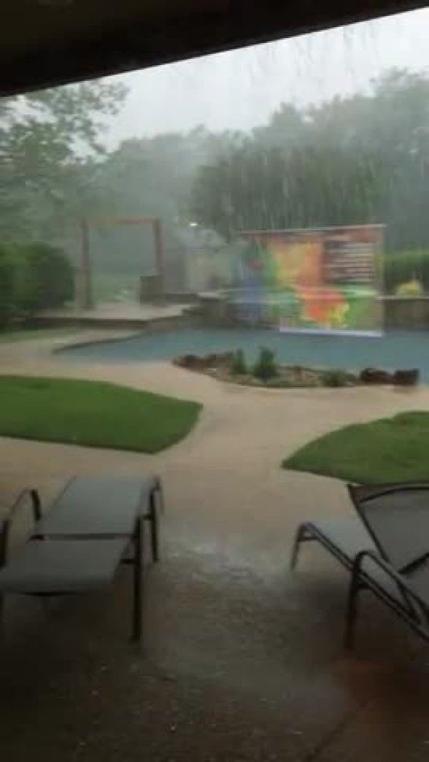 rain in double oak