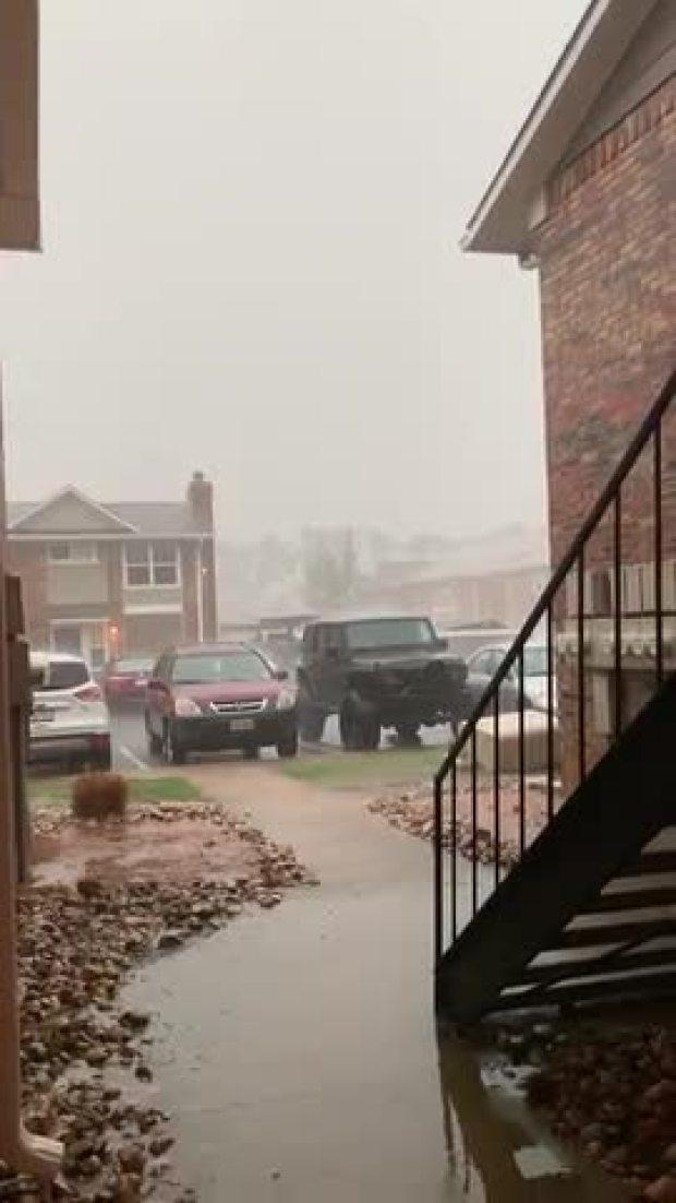 Denton Rain and Flooding