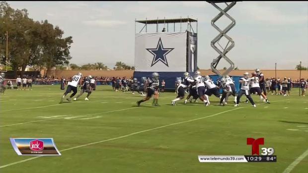 Inicia oficialmente el entrenamiento de los Cowboys