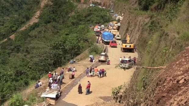 [TLMD - LV] Familiares piden acelerar la búsqueda de víctimas en los derrumbes en Bolivia