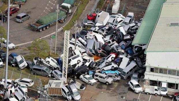 Muerte y destrucción: tifón arrasa con todo en Japón