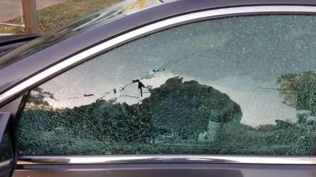 [TLMD - Dallas] Amanecen con vehículos vandalizados en Oak Cliff
