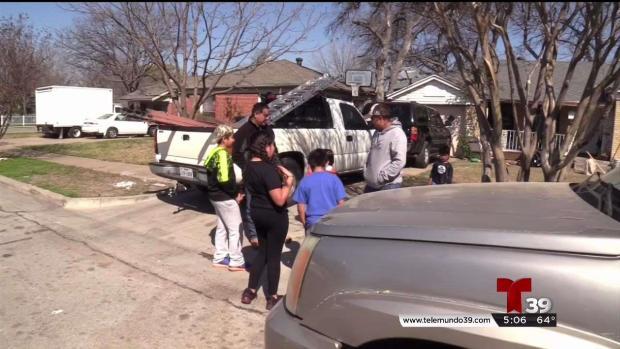 Robo en casas de familias evacuadas en Dallas