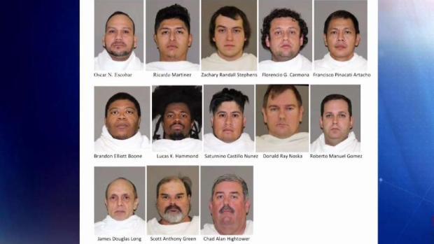 [TLMD - Dallas] Arrestados por presuntamente solicitar sexo con menores