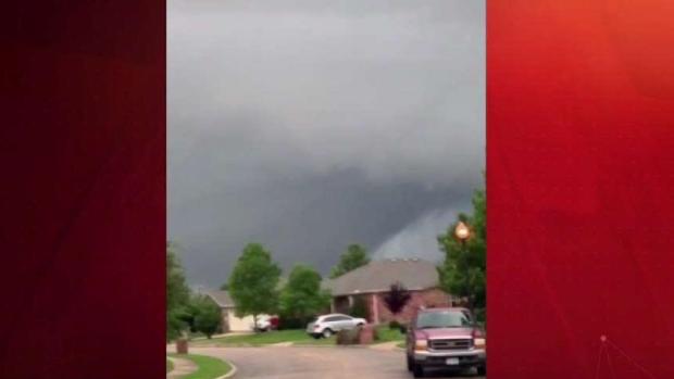 Así se confirmó el tornado en el condado Rockwall