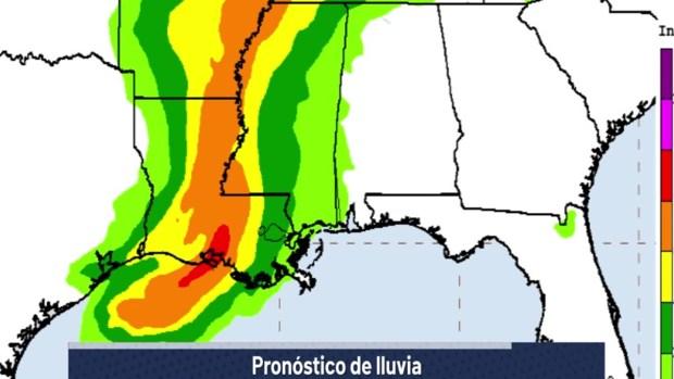 [TLMD - NATL] Tormenta tropical Barry: boletín de las 5 p.m.