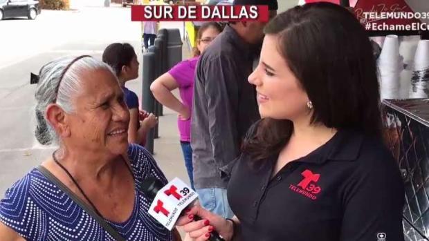 Bernarda nos Echa el Cuento desde el sur de Dallas