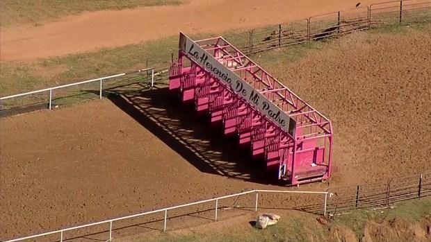 Operativo contra carreras ilegales de caballos en condado Parker