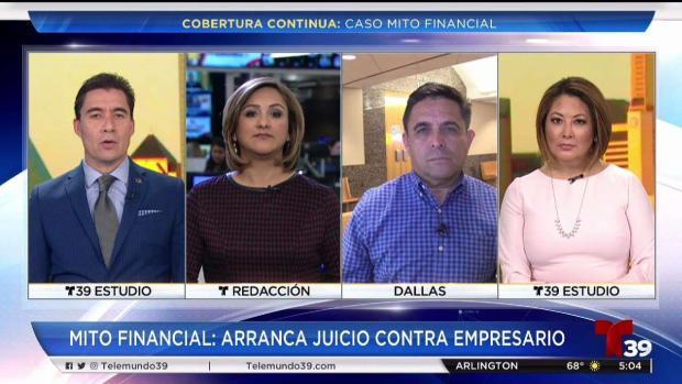 [TLMD - Dallas] Caso Mito Financial en Telemundo 39