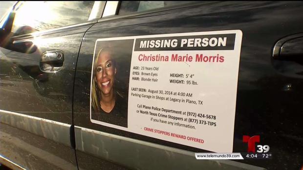 [TLMD - Dallas] Christina Morris: tres años y medio desaparecida