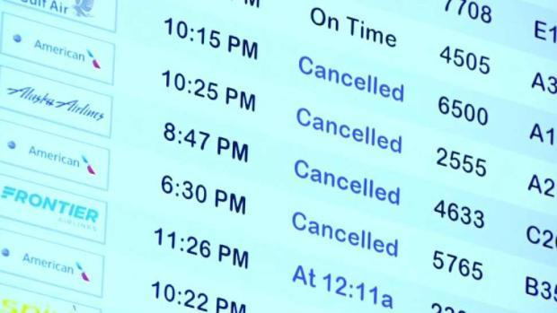 [TLMD - Dallas] Cientos de vuelos cancelados o retrasados