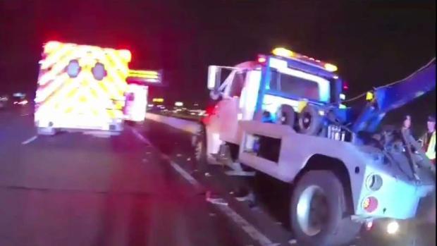 [TLMD - Dallas] Conductor de grúa muere atropellado en la I-20