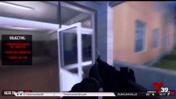 [TLMD - Dallas] Controversia por juego que simula tiroteo en escuela