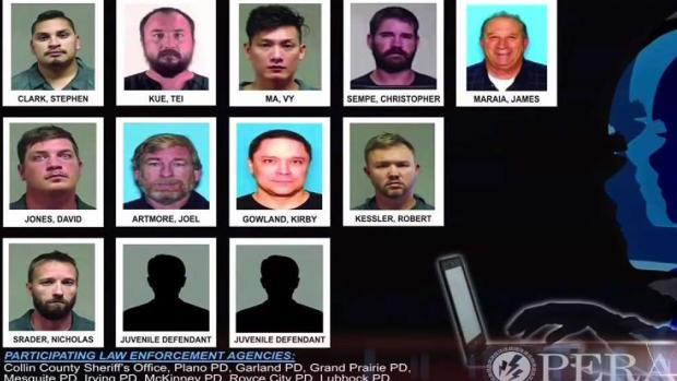 [TLMD - Dallas] Ejecutan operativo contra ofensores sexuales