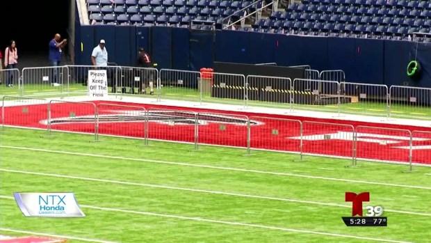 Estadio en Houston ya casi listo