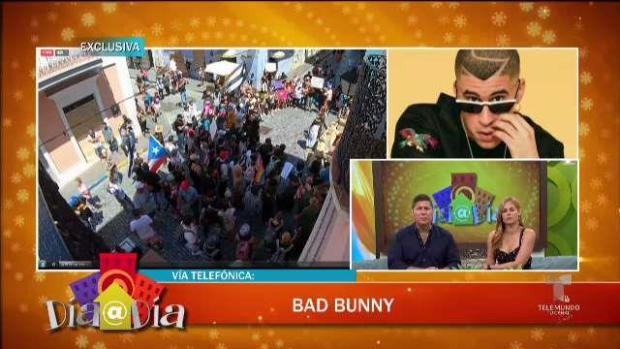 [TLMD - PR] Exclusiva: Bad Bunny ofrece detalles de la manifestación