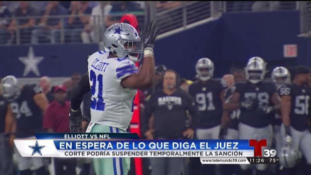 Ezekiel Elliot jugará contra Giants de NY