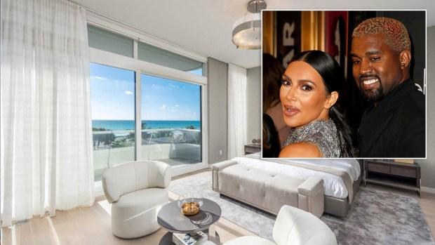 Kim Kardashian y Kanye West compran condominio multimillionario en Miami Beach