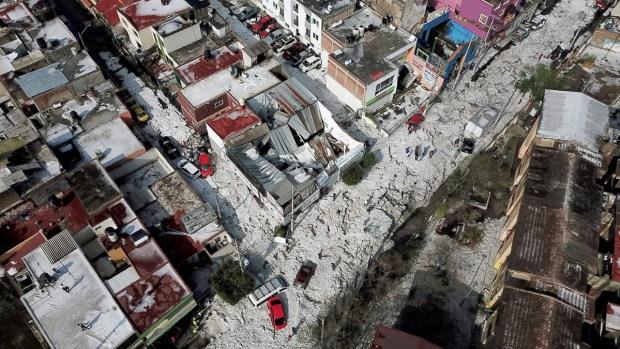 [NAC] En fotos: Tremenda granizada sorprende a Guadalajara
