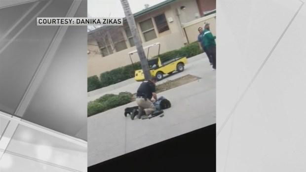 Policia acusado de uso excesivo de fuerza contra estudiante