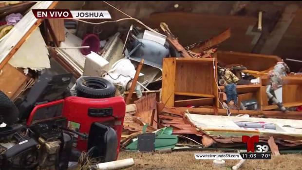 [TLMD - Dallas] Heridos en el Condado Johnson tras paso de tormentas