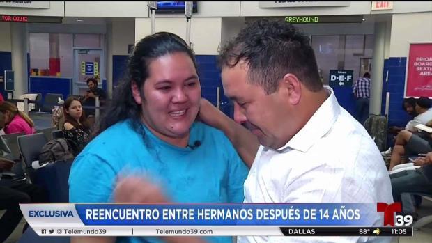 [TLMD - Dallas] Hermanos hondureños se reencuentran en Dallas