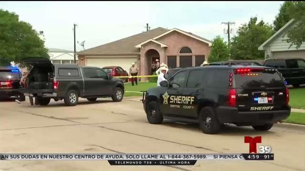 [TLMD - Dallas] Investigan caso de homicidio-suicidio en Ponder