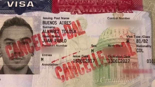 [TLMD - Dallas] Le cancelan su visa al entrar por el aeropuerto DFW