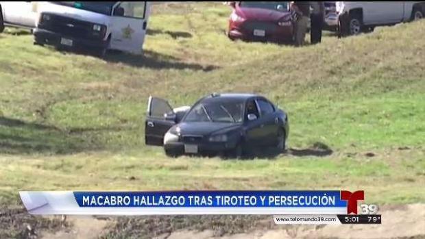 Macabro hallazgo tras tiroteo entre automovilistas