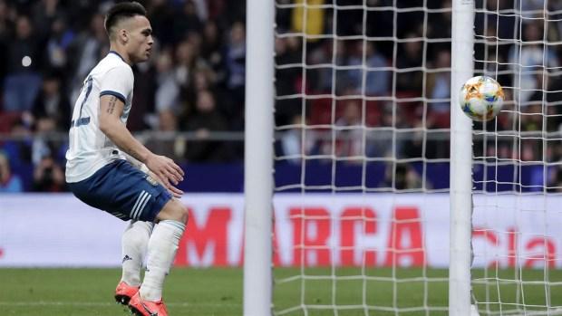 [TLMD - NATL] Lautaro Martínez cree que Argentina puede ganar la Copa América