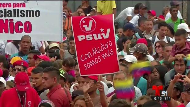 [TLMD - MIA] Maduro quiere 10 millones de votos en elecciones
