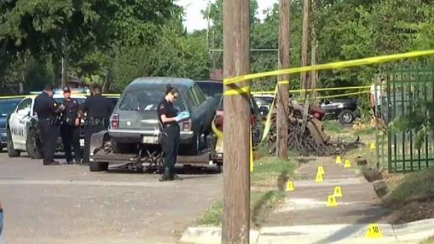 [TLMD - Dallas] Matan a un hombre frente a una casa en Dallas