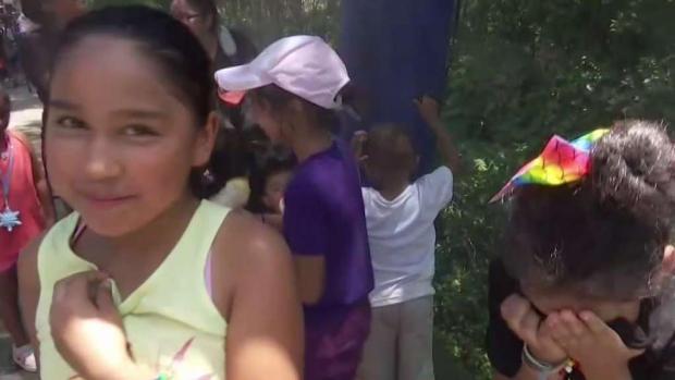 [TLMD - Dallas] Miles desafían el calor en el zoológico de Dallas