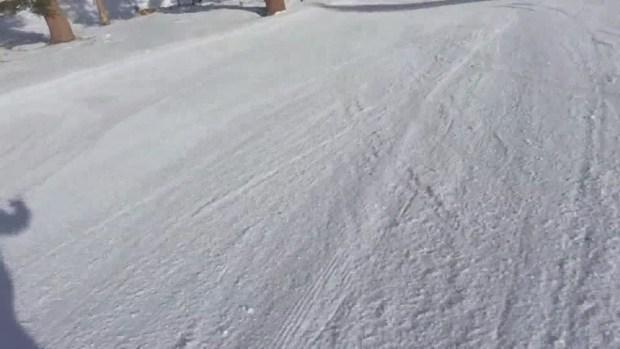 Paraje termina enterrada por la nieve tras una avalancha