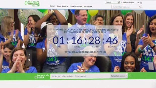[TLMD - Dallas] North Texas Giving Day le hace un llamado a comunidad