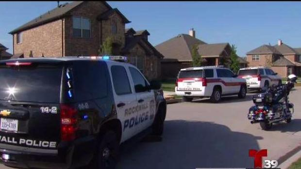 En Rockwall: Mató a su esposa, incendia su casa y se suicida