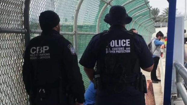 [TLMD - SA] Oficiales federales y estatales resguardan la frontera