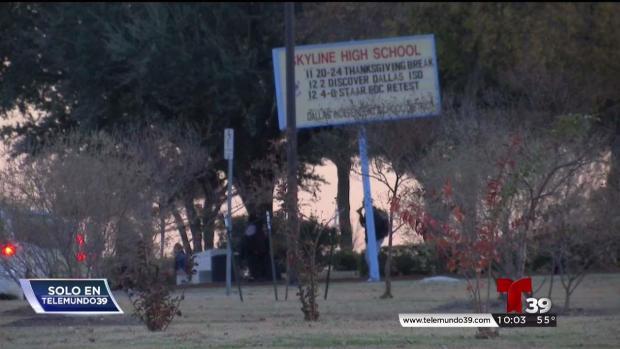 [TLMD - Dallas] Captado en cámara: robo contra estudiante en Dallas