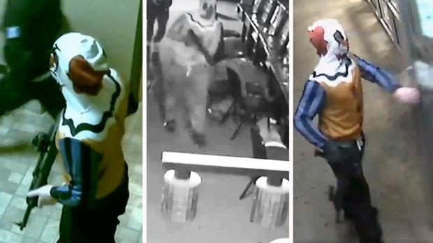 Revelan imágenes de impresionante asalto en Fort Worth