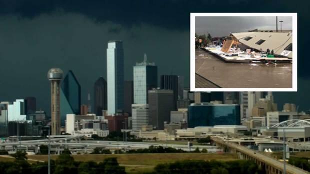 Tormentas sorprenden con daños al norte de Texas