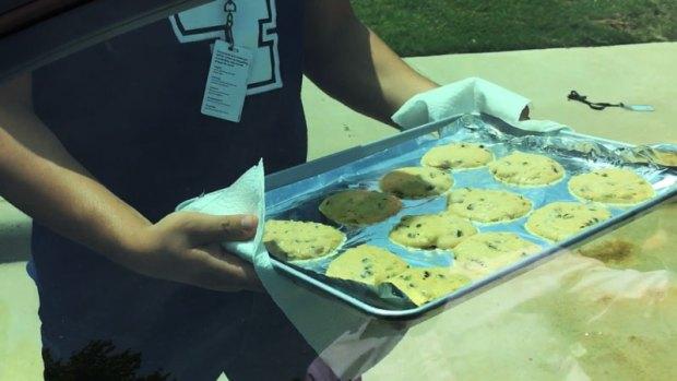 Increíble: Lo que pasó con 12 galletas por las altas temperaturas