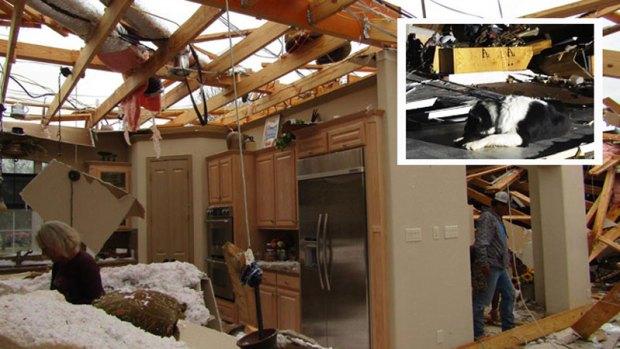 Tornados dejan heridos y serios daños al norte de Texas