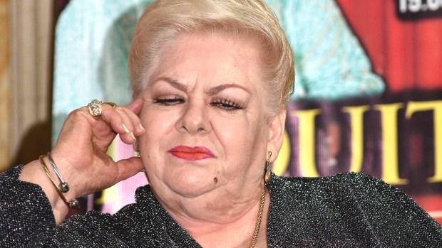 Paquita la del Barrio quiere ser presidenta de México