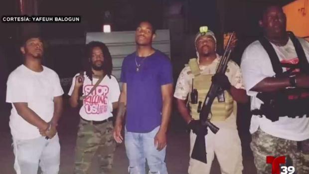 [TLMD - Dallas] Policía de Dallas responde a grupo de vecinos armados