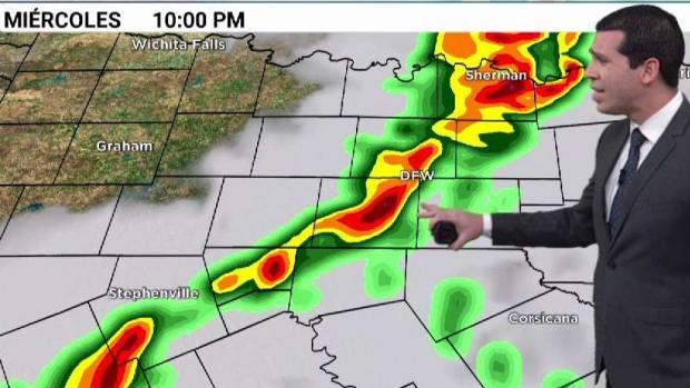 [TLMD - Dallas] Pronóstico de tiempo severo para este miércoles