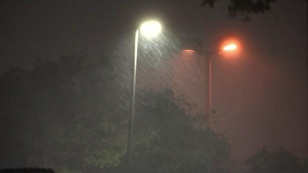 Vientos de hasta 80 millas en el condado Dallas