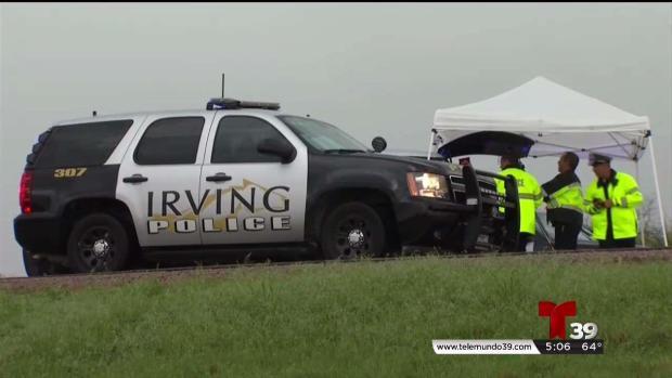 [TLMD - Dallas] Reabren carretera en Irving tras muerte de niño