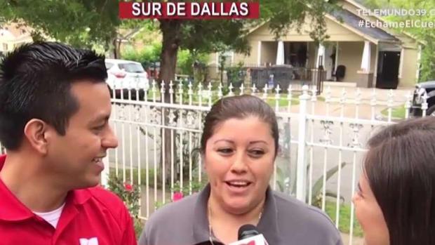 Rosa nos Echa el Cuento desde el sur de Dallas